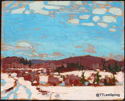 March 25, 1917 Early Spring, Algonquin Park