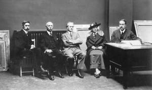 1915 OSA Exhibition Hanging Committee